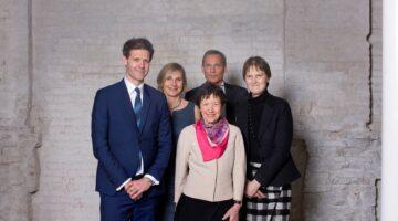 Lida Hulgaard og Dreyers Fonds bestyrelse